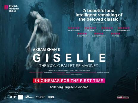 Film picture: Akram Khan's Giselle - ENB 2017