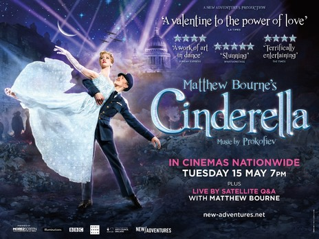 Film picture: Matthew Bourne's Cinderella With Live Q&A Via Satellite