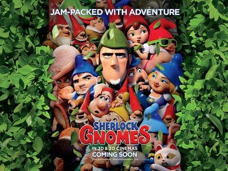 Film picture: 2D Sherlock Gnomes
