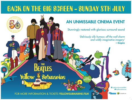 Film picture: The Beatles Yellow Submarine (50th Anniversary)
