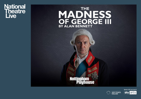 Film picture: NT Live - The Madness of George III