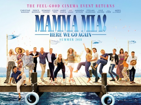 Film picture: Mamma Mia! Here We Go Again