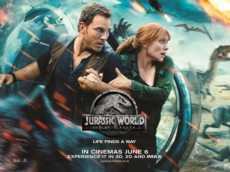 Film picture: 3D Jurassic World: Fallen Kingdom