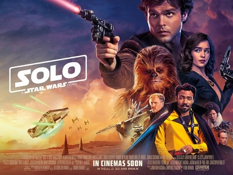 Film picture: (IMAX) 3D Solo: A Star Wars Story