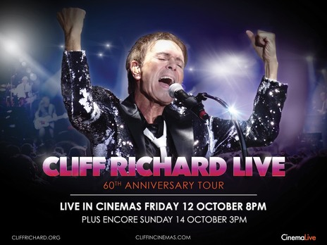 Film picture: Cliff Richard Live: 60th Anniversary Tour