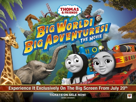 Film picture: Thomas & Friends: Big World! Big Adventues! The Movie