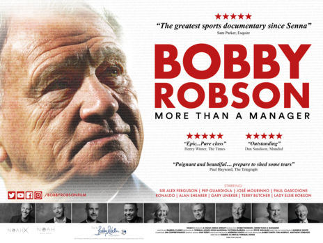 Film picture: Bobby Robson: More Than A Manager