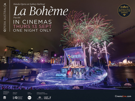 Film picture: La Boheme On Sydney Harbour (2018)