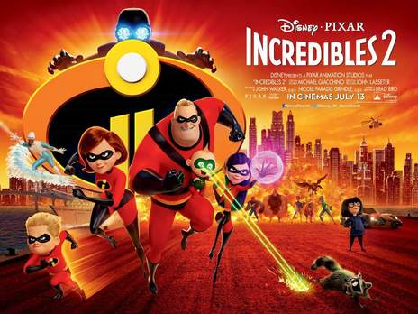 Film picture: 2D Incredibles 2 [Includes short film BAO]