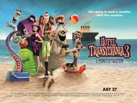Film picture: 2D Hotel Transylvania 3: A Monster Vacation