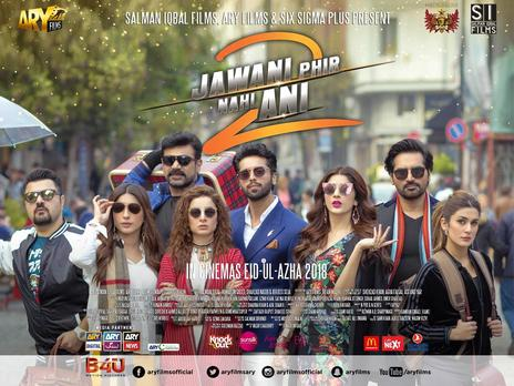 Film picture: Jawani Phir Nahi Ani 2