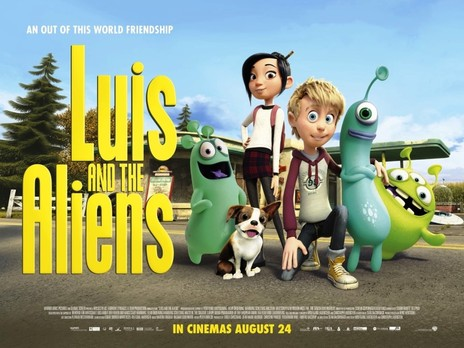 Film picture: Luis And The Aliens