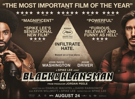 Film picture: BlacKkKlansman