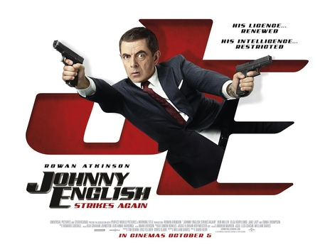 Film picture: Johnny English Strikes Back