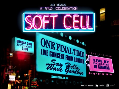 Film picture: Soft Cell: One Final Time. Live Concert from London