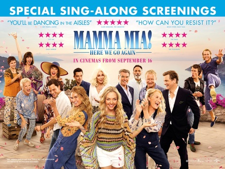 Film picture: Mamma Mia! Here We Go Again (Sing-A-Long)