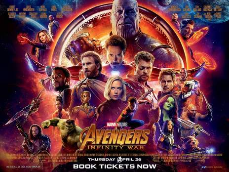 Film picture: (IMAX) 2D Avengers: Infinity War