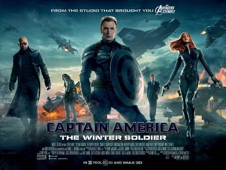 Film picture: (IMAX) 3D Captain America: The Winter Soldier