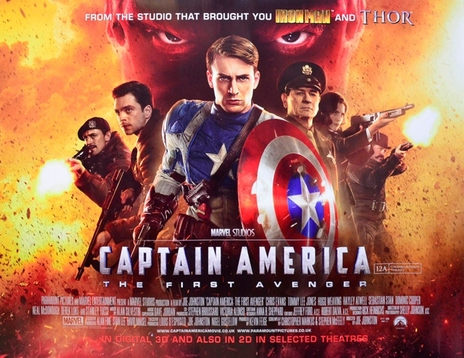 Film picture: (IMAX) 2D Captain America: The First Avenger