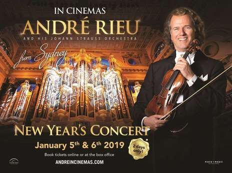Film picture: Andre Rieu's 2019 New Year's Concert From Sydney