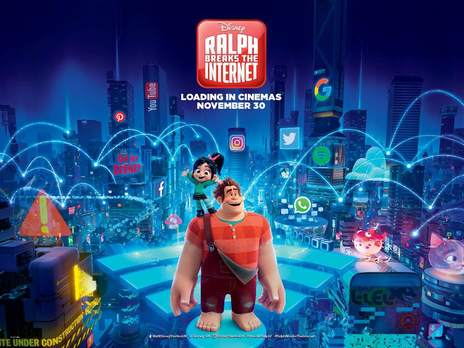 Film picture: 3D Ralph Breaks The Internet - Wreck-It Ralph 2