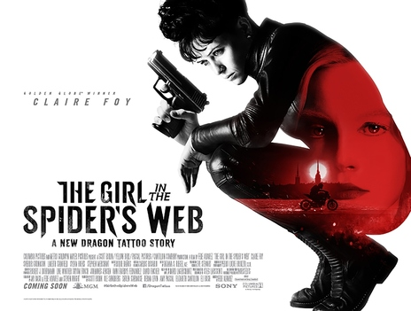 Film picture: The Girl In The Spiders Web