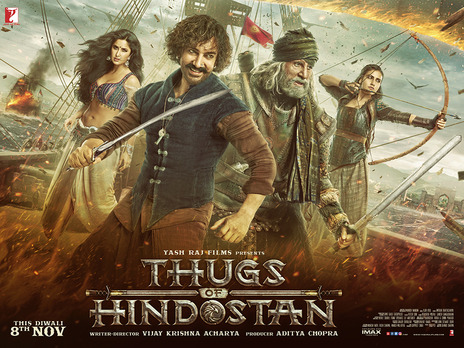 Film picture: Thugs Of Hindostan