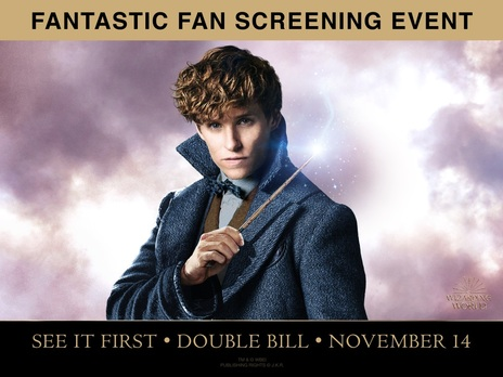 Film picture: (IMAX) Fantastic Beasts Fan Screening Event (Double Bill)