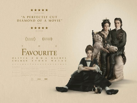 Film picture: The Favourite