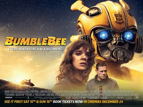 Film picture: 2D Bumblebee
