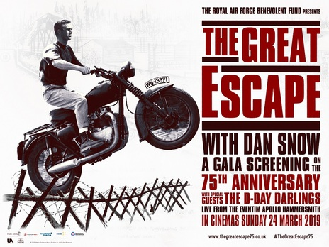 Film picture: The Great Escape With Dan Snow: A Gala Screening On The 75th Anniversary