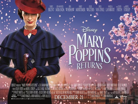 Film picture: Mary Poppins Returns