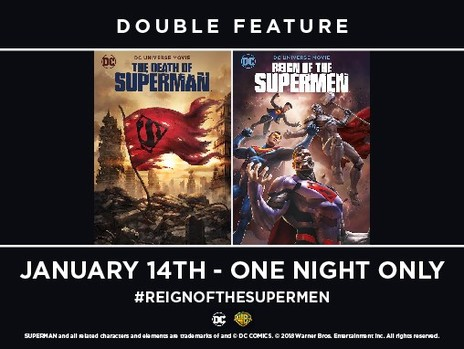 Film picture: The Death Of Superman / Reign Of The Supermen Double Feature