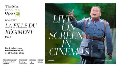 Film picture: Met Opera - La Fille Du Regiment