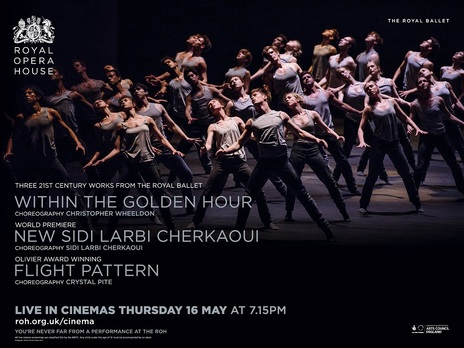 Film picture: ROH - Triple Bill (Live). Flight Pattern / Within The Golden Hour / New Sidi Larbi Cherkaoui