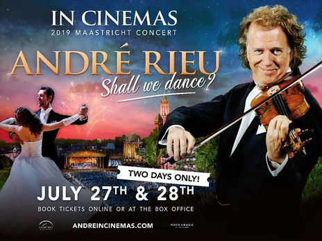 Film picture: Andre Rieu's 2019 Maastricht Concert