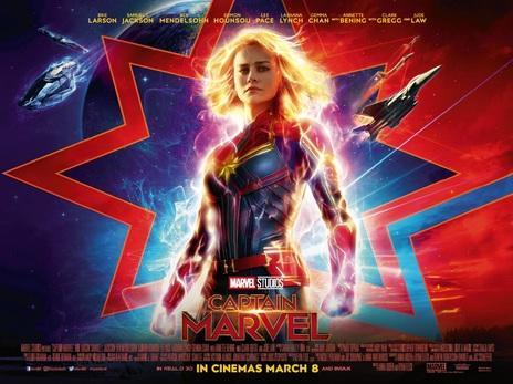 Film picture: (IMAX) 3D Captain Marvel