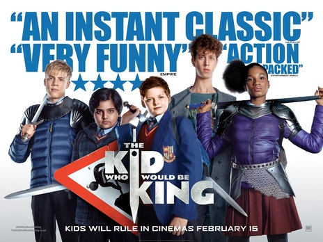Film picture: The Kid Who Would Be King