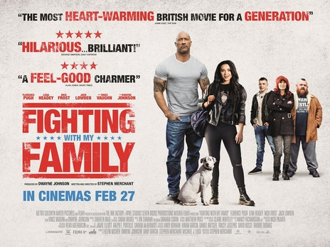 Film picture: Fighting With My Family