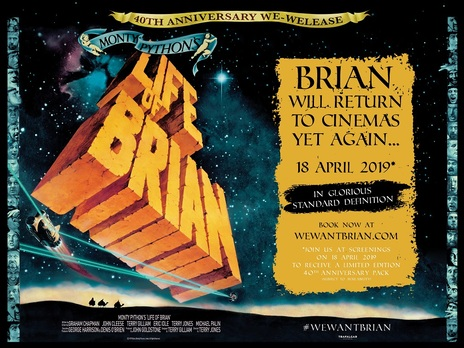 Film picture: Monty Pythons Life Of Brian (40th Anniversary)