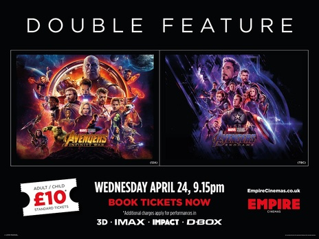 Film picture: (IMAX) 3D Avengers Double Bill