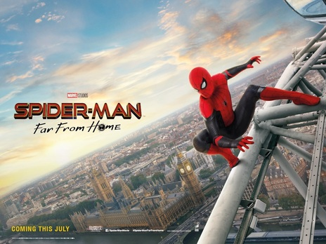 7247e62a16 Film picture: Spider-Man: Far From Home. Book Now (3D IMAX) ...