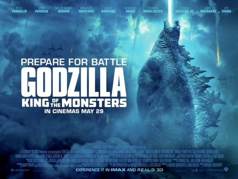 Film picture: (IMAX) 3D Godzilla: King Of The Monsters