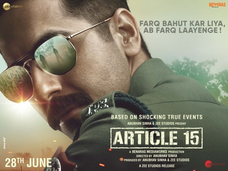 Film picture: Article 15