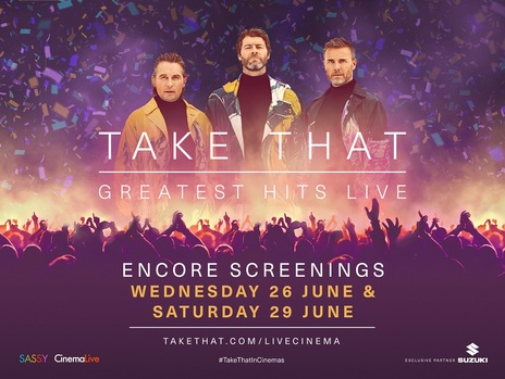 Film picture: Take That - Greatest Hits Live (Encore)
