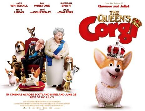 Film picture: The Queen's Corgi