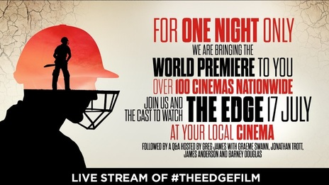Film picture: The Edge plus Satellite link-up Q&A