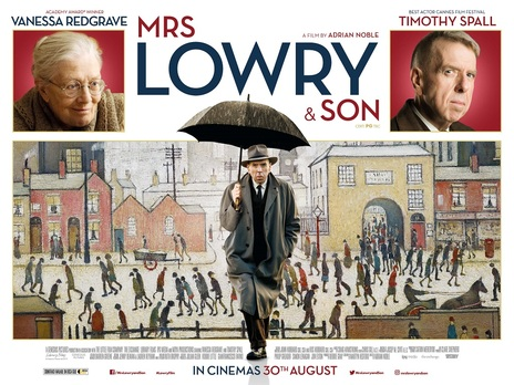 Film picture: Mrs Lowry and Son + recorded Q&A with Timothy Spall.