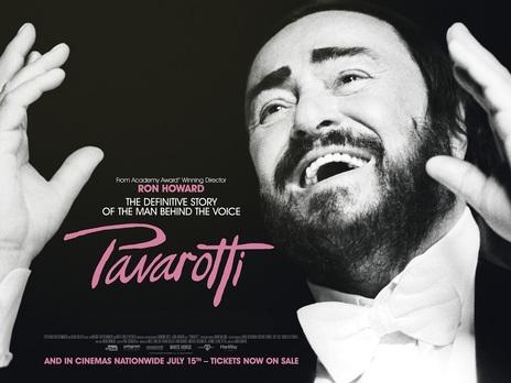 Film picture: Pavarotti