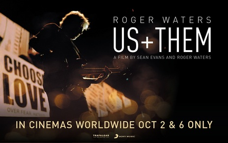Film picture: Roger Waters  Us + Them
